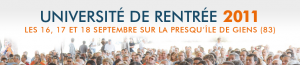 Université de Rentrée