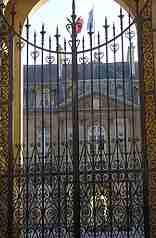 grille du Palais de l'Elysée