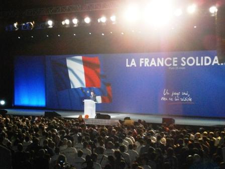 F Bayrou au Zenith le 25 mars 2012