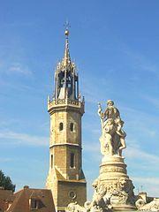 Beffroi d'Evreux par le Comité Régional de tourisme de Normandie image sous licence Creative Commons disponible sur Wikimedia Commons.