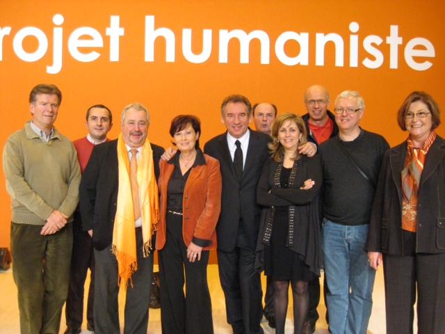 Délégation Mouvement Démocrate HAUTE
